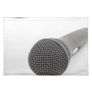 Studio Microphone Placemat