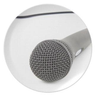Studio Microphone Plate
