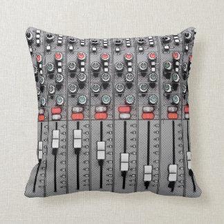 Studio Pillow: Mixer / Sound Board Throw Pillow