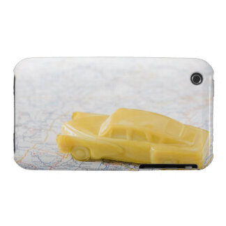 Studio shot of old-fashioned toy car iPhone 3 Case-Mate case