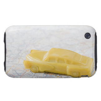 Studio shot of old-fashioned toy car iPhone 3 tough covers