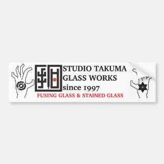 studio takuma glass works STICKER