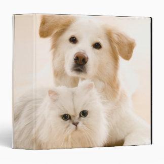 Studio tiré du chat et du chien classeur vinyle