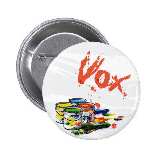 studio vox 2 inch round button
