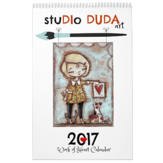 StudioDudaArt 2017 Work of Heart Calendar