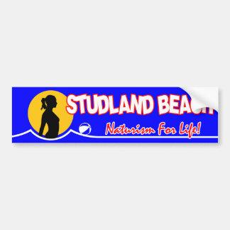 Studland Nudist Beach Bumper Sticker