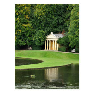 Studley Royal Water Gardens Temple Postcard