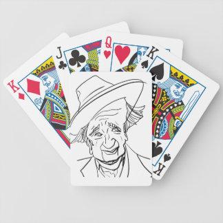 Studs Terkel Bicycle Playing Cards