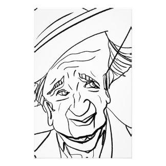 Studs Terkel Custom Stationery