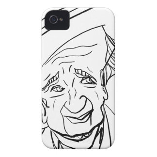 Studs Terkel iPhone 4 Case-Mate Case