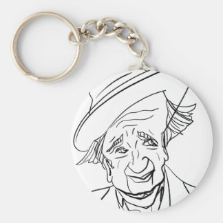 Studs Terkel Keychain