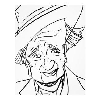 Studs Terkel Letterhead Design