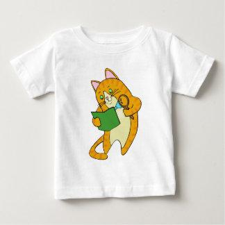 Study Cat Baby T-Shirt