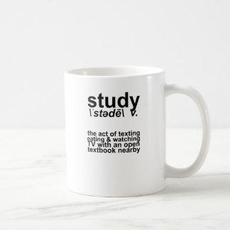 Study Definition Coffee Mug