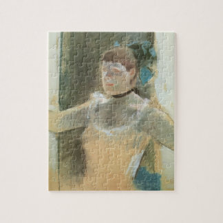 Study for Bust of a Dancer by Edgar Degas Jigsaw Puzzle