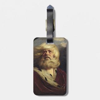 Study for King Lear - Joshua Reynolds Bag Tags