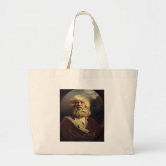 Study for King Lear - Joshua Reynolds Jumbo Tote Bag