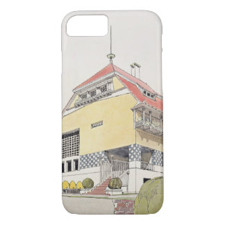 Study for Olbrich's House, Darmstadt, from 'Archit iPhone 7 Case