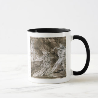 """Study for """"Saul and the Witch of Endor"""" Mug"""