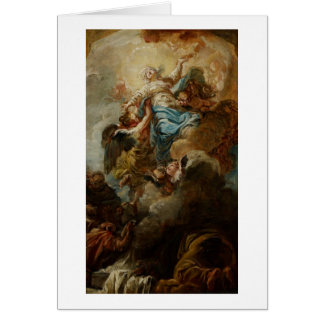 Study for the Assumption of the Virgin, c.1760 2 Card