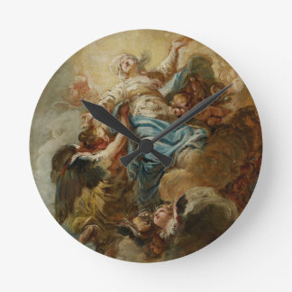 Study for the Assumption of the Virgin, c.1760 2 Clock