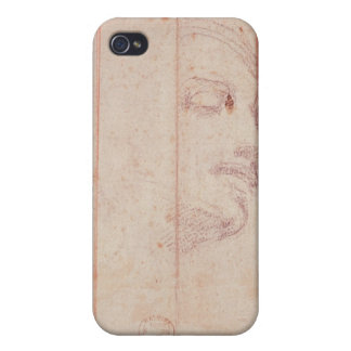 Study for the Head of the Libyan Sibyl iPhone 4 Cover
