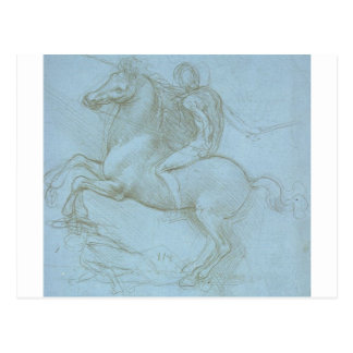 Study for the Sforza Monument Postcard