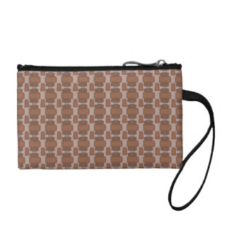 Study in Brown Coin Purse