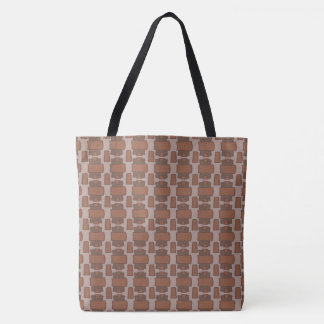 Study in Brown Tote Bag
