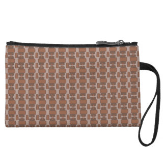 Study in Brown Wristlet