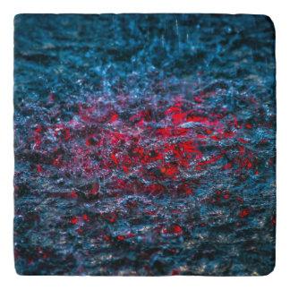 Study In Watercolor - Red Trivet