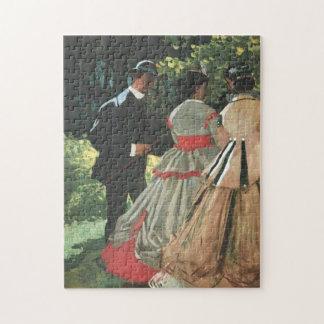 Study Le déjeuner sur l'herbe Monet Fine Art Jigsaw Puzzle