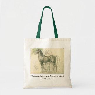 Study of a Horse by Edgar Degas, Vintage Fine Art