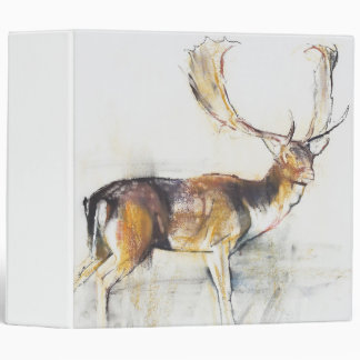 Study of a Stag 3 Ring Binder