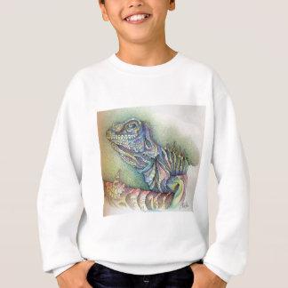 Study of An Iguana Sweatshirt