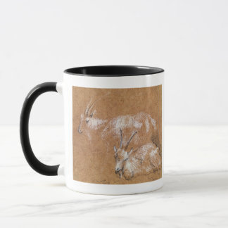 Study of Goats (drawing) Mug