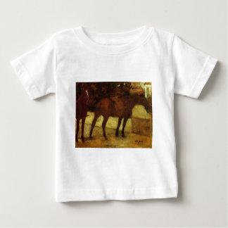 Study of Horses by Edgar Degas Baby T-Shirt