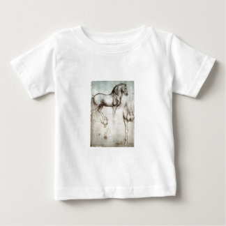 Study of horses - Leonardo da Vinci Baby T-Shirt