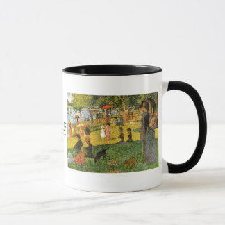 Study of Sunday Afternoon ~ Georges Seurat Mug