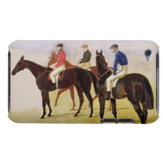 Study of Three Steeplechase Cracks: Allen McDonoug iPod Touch Cases