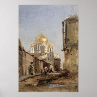 Study of Tobolsk, 1842 Poster