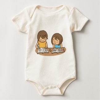 Studying Students Baby Bodysuit