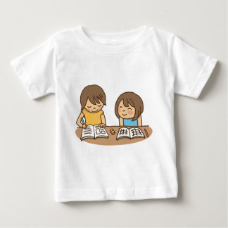 Studying Students Baby T-Shirt