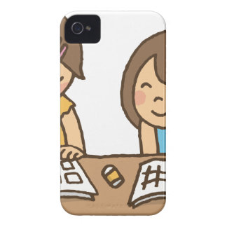 Studying Students iPhone 4 Case