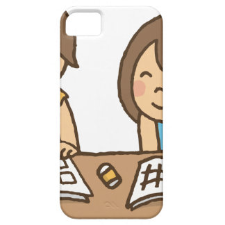 Studying Students iPhone 5 Cover