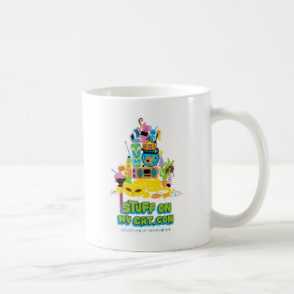 Stuff on my Cat - cartoon stack Coffee Mug
