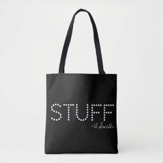 Stuff. Plain and Simple. Tote Bag