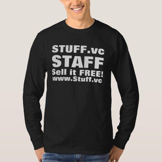 STUFF.vc, STAFF, Sell it FREE!, www.Stuff.vc T-Shirt