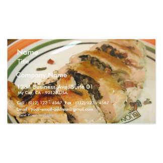 Stuffed Chicken Rice Pack Of Standard Business Cards