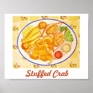 Stuffed Crab Poster